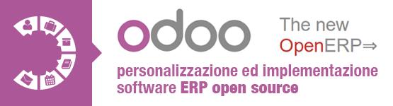 Odoo personalizzazione ed implementazione software ERP open source